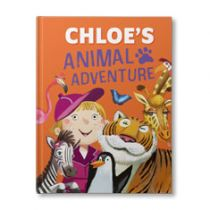 Your Animal Adventures Personalised Book
