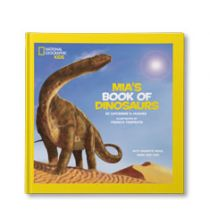 National Geographic Little Kids Book of Dinosaurs Personalised Book