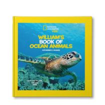 National Geographic Little Kids Book of Ocean Animals Personalized Book
