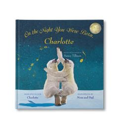 On the Night You Were Born Personalised Book