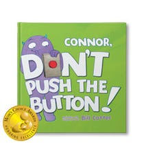 Don't Push the Button Personalised Book