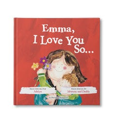 I Love You So... Personalised Book