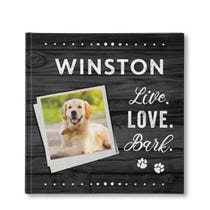 Live Love Bark Personalized Book