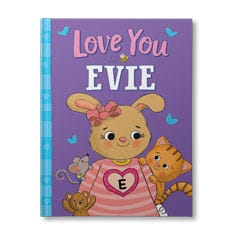 Love You Personalised Book