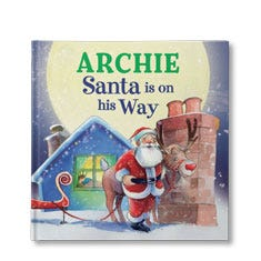 Santa is on His Way Personalised Book