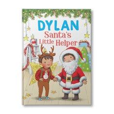 Santa's Little Helper Personalised Book for Boys