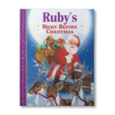 'Twas the Night Before Christmas Personalized Book for Girls