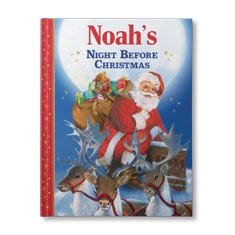 'Twas the Night Before Christmas Personalised Book for Boys