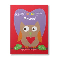 Whooo Loves You? Personalised Book